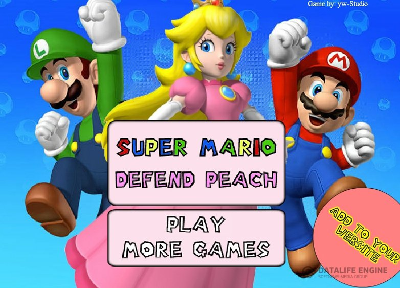 Mario Defends Peach