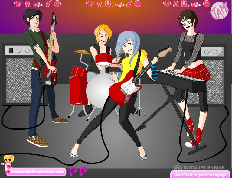 Rock Band Makeover