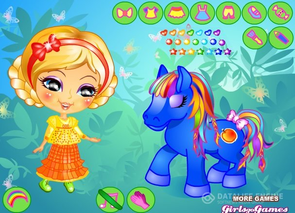 Her Little Pony Dress Up