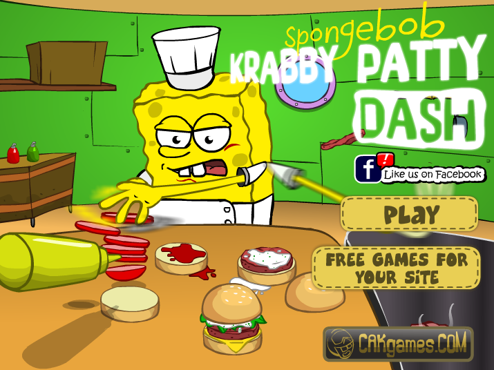 Spongebob Krabby Patty Dash