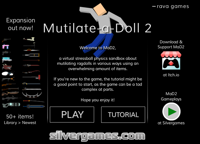 Play Mutilate-a-Doll 2